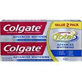 Colgate Total Advanced Whitening Toothpaste Twin Pack - 5.8 ounce