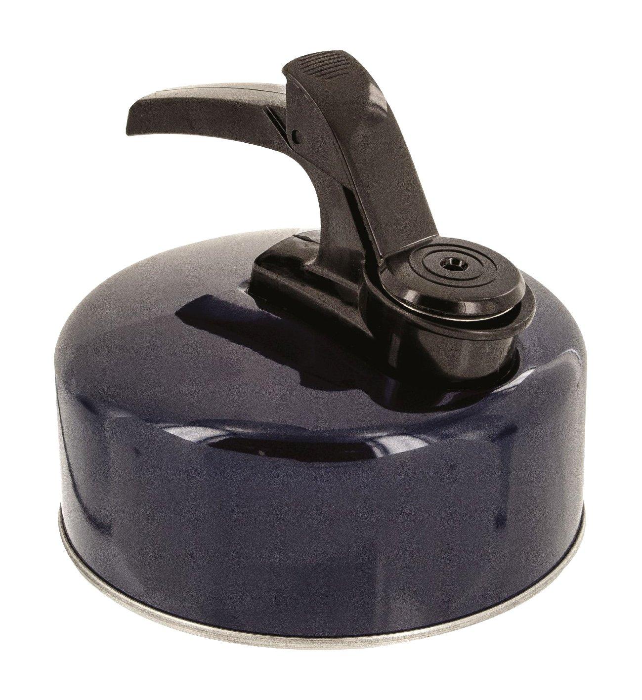 Highlander Wasserkessel mit Pfeife CP093-DNV-01 Blau