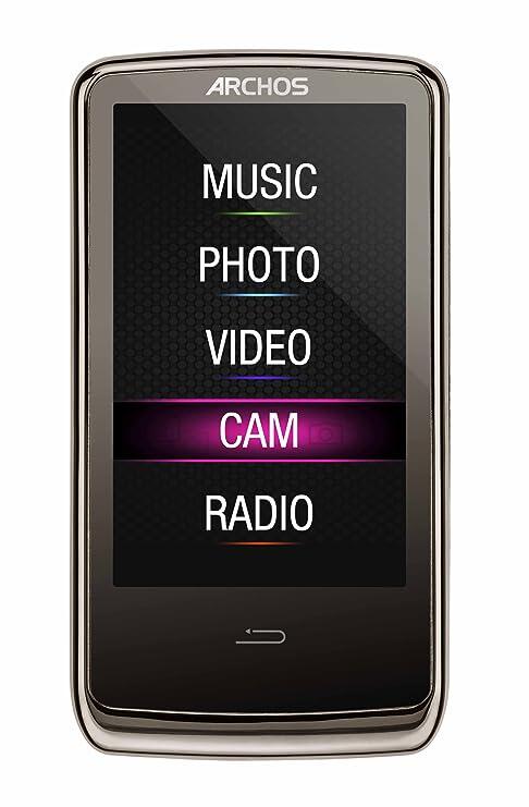 amazon com archos 3 cam vision player with built in video camera rh amazon com  Archos 7 Home Tablet Manual