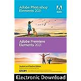 Adobe Photoshop Elements 2021 & Premiere Elements 2021 Student and Teacher [Mac Online Code]