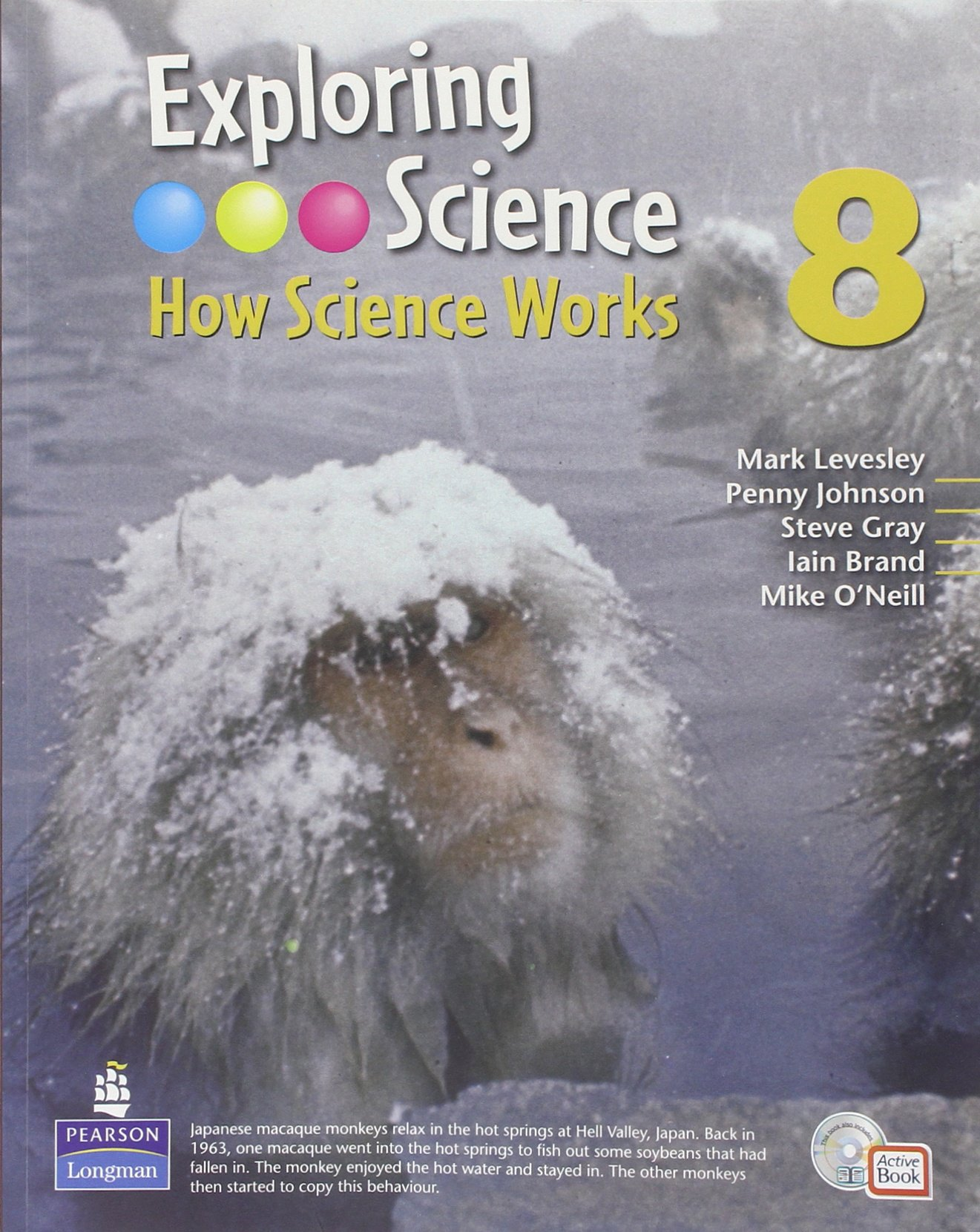 Exploring Science : How Science Works Year 8 Student Book with ActiveBook with CDROM (EXPLORING SCIENCE 2)