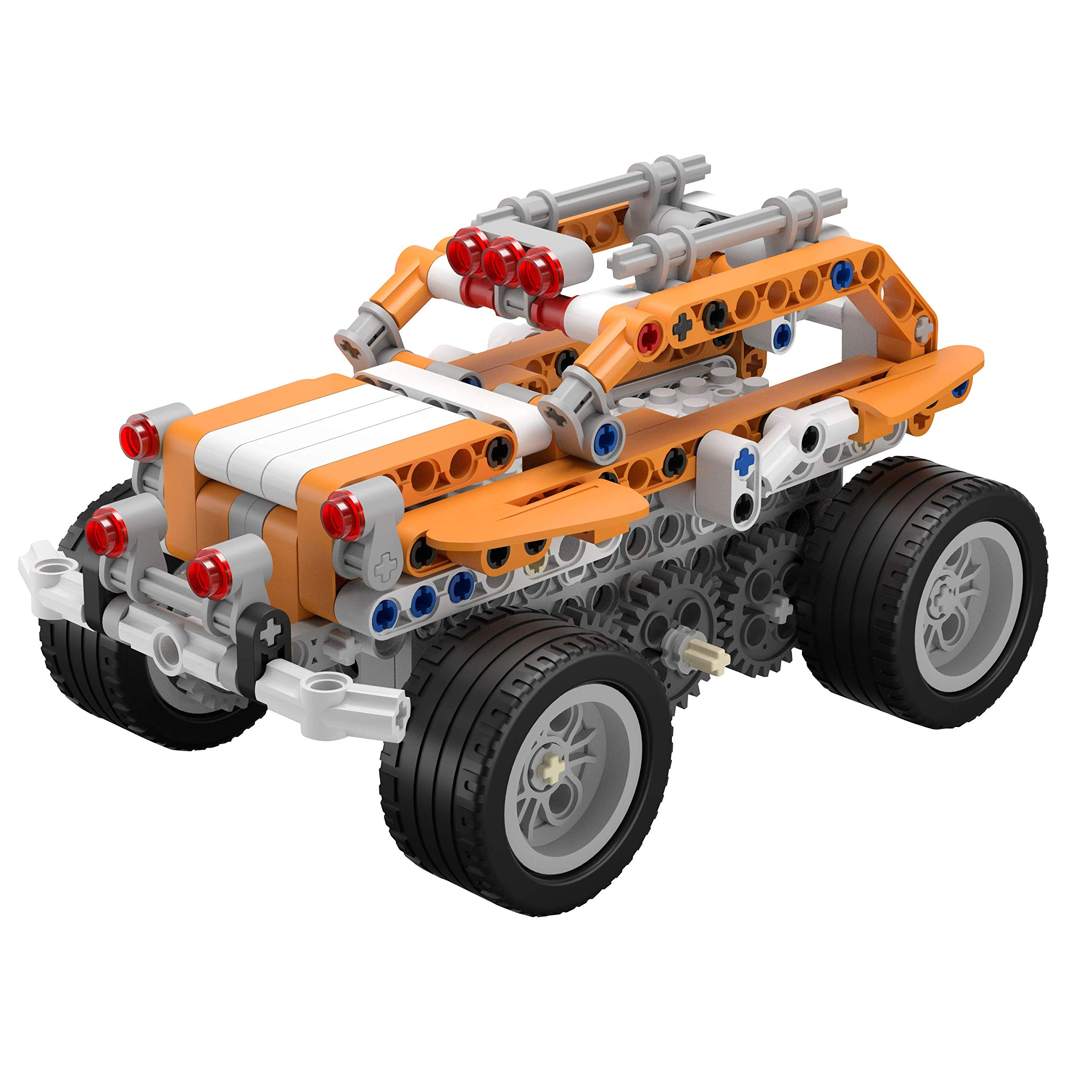 Apitor SuperBot, Educational Building Block 18 in 1 Robot Kit, APP Remote Control, STEM Coding Learning Toy, Ideal Gift for Kids 8+, Compatible with Major Building Block Toys (400+ Pieces) by Apitor Technology Co., Ltd. (Image #1)