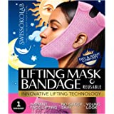 Reusable Face Slimming Strap Double Chin Reducer V Line Mask Chin Up Patch Chin V Up Contour Tightening Firming Face Lift Tap