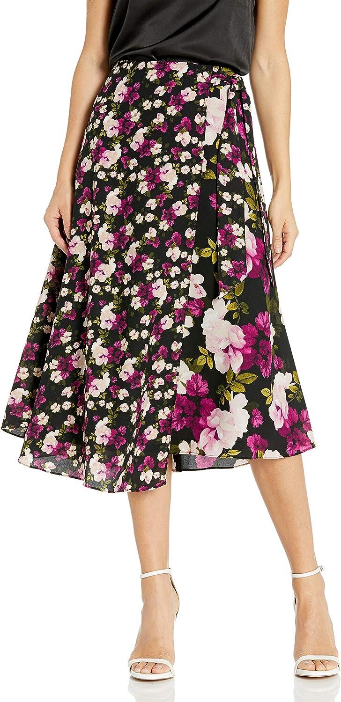 Calvin Klein Women's Faux Wrap Skirt