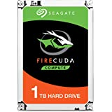 Seagate ST1000LX015 FireCuda 1 TB 5400 RPM 2.5 inch SATA Internal SSHD Hard Drive with 7 mm Form Factor, 128 MB Cache & SATA 6 GB/s up to 140 MB/s for PC and PS4
