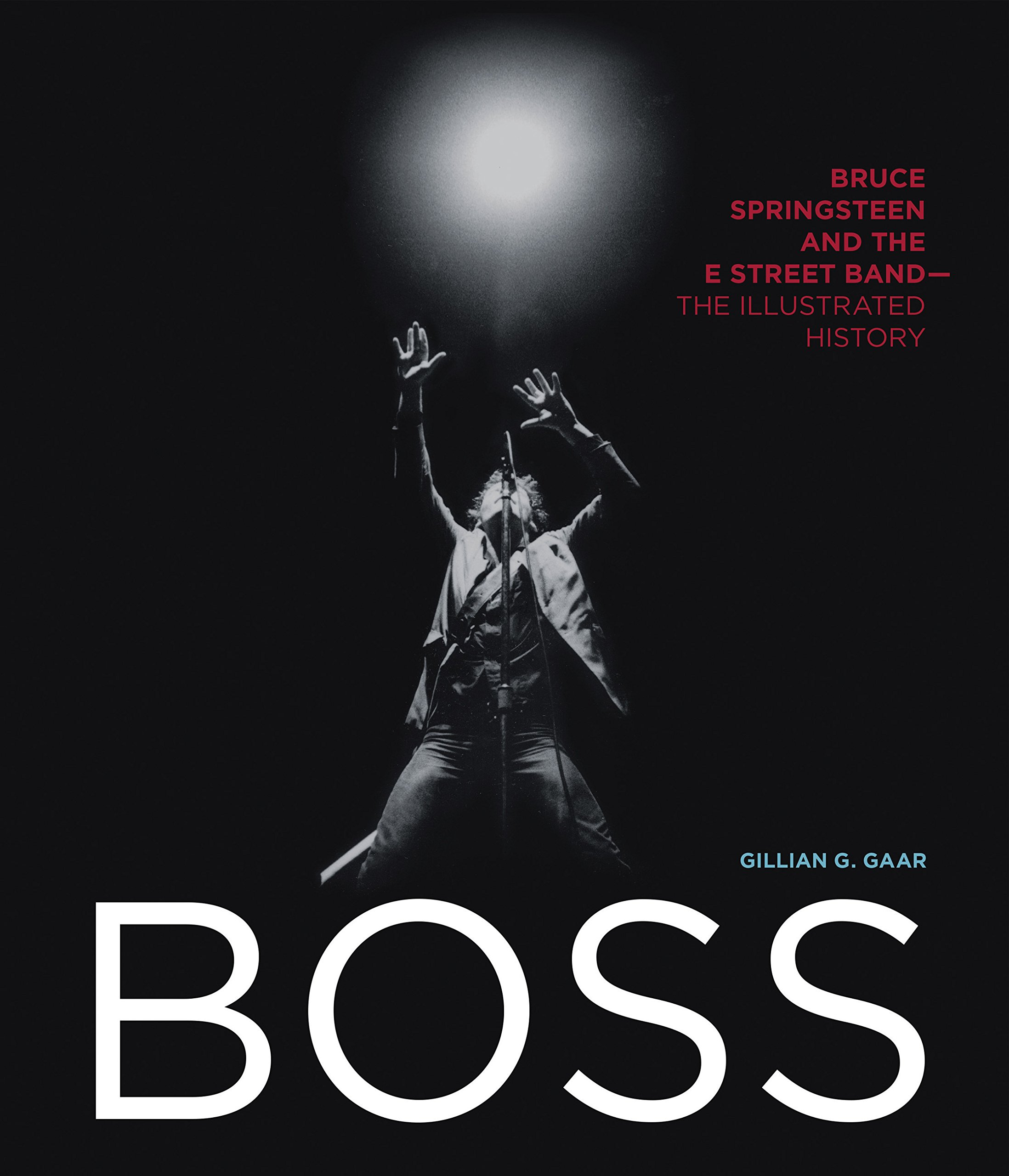 Boss Bruce Springsteen And The E Street Band The Illustrated