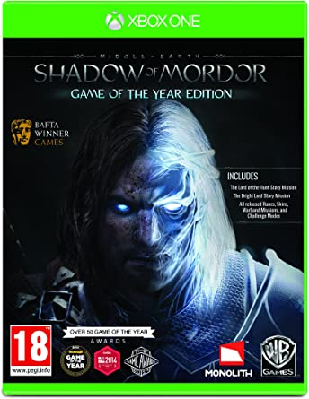Middle-Earth: Shadow Of Mordor Goty [Importación Inglesa]: Amazon ...