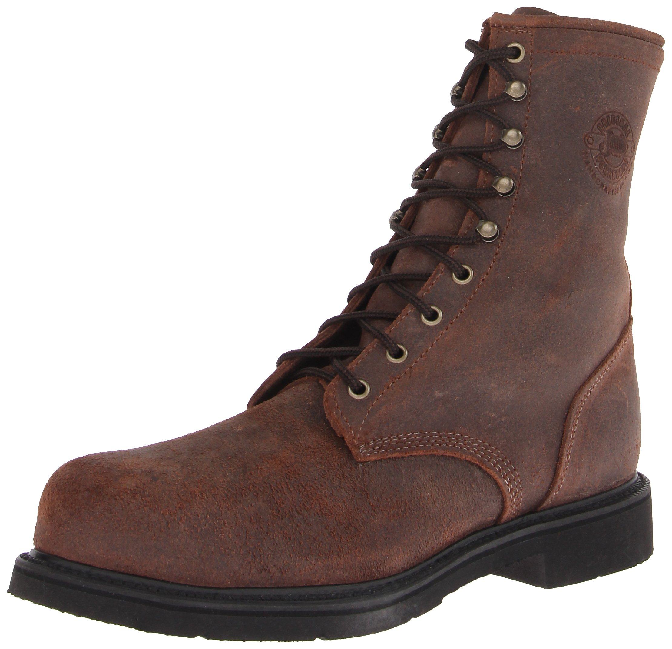 Justin Original Work Boots Men's American Traditionalseel Toed Work Shoe,Dark Mountain/Steel,10.5 D US by Justin Boots