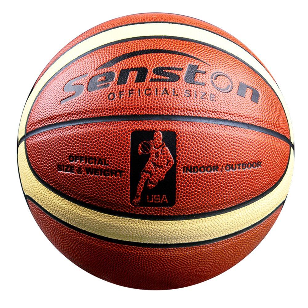 Senston Balon de Baloncesto Outdoor Pelota de Baloncesto Balones ...
