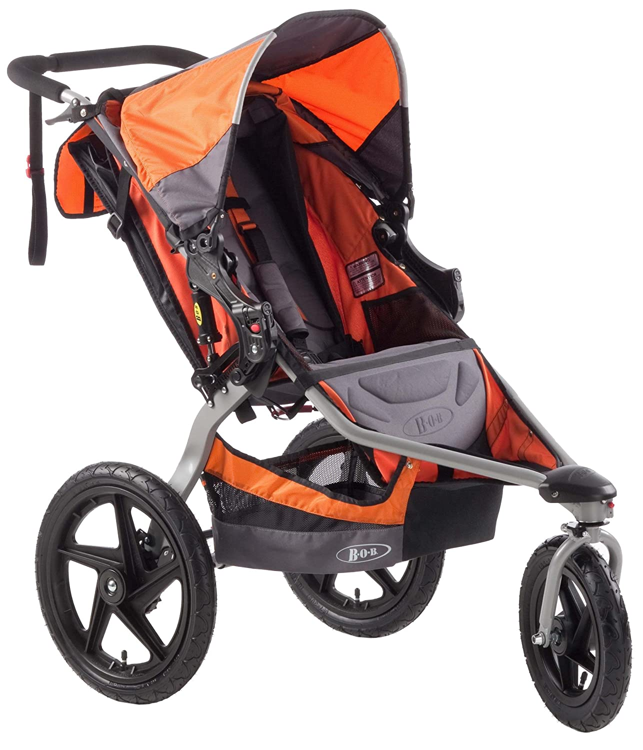 Amazon.com : BOB Revolution SE Single Stroller, Orange : Jogging ...