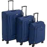 AmazonBasics - Set de dos maletas con ruedas
