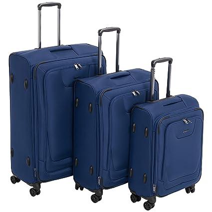 AmazonBasics - Set de dos maletas con ruedas, de calidad ...