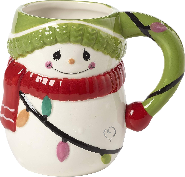 3D Snowman Mugs