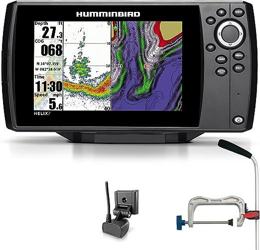 Humminbird Helix 7 Sonar GPS Echolot Mar tarjeta Combo para plotter portátil profesional: Amazon.es: Deportes y aire libre
