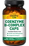 Country Life Coenzyme B Complex, 120-Count