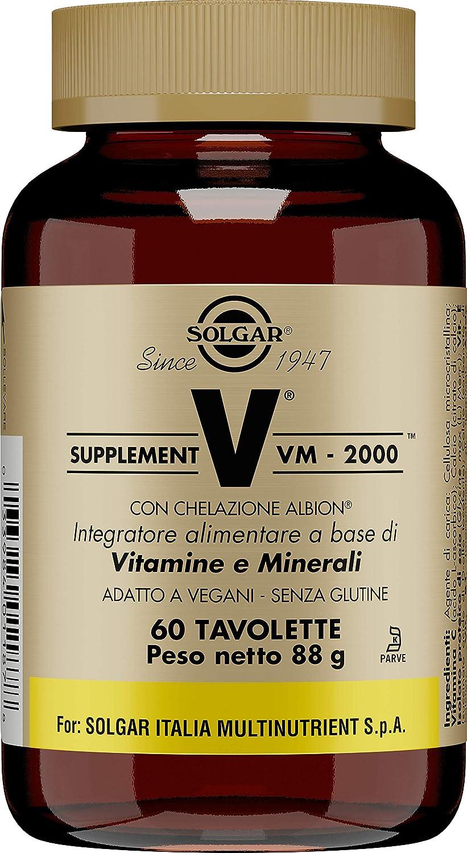 Solgar Fórmula VM-2000-60 Tabletas