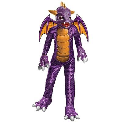Boy's Deluxe Skylanders Spyro Costume: Toys & Games