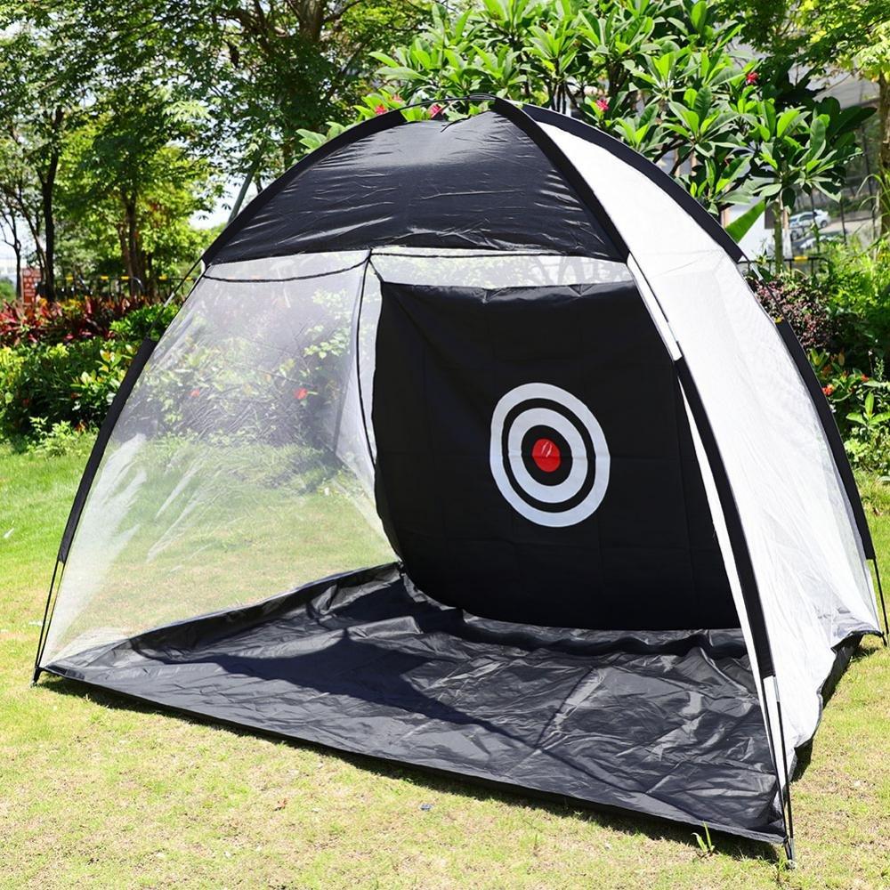 vbestlifeゴルフトレーニングテント、折りたたみ式ゴルフターゲットNet Practice Hitting Netトレーニングケージインドアアウトドア+無料バッグ   B07DWXJ7FD
