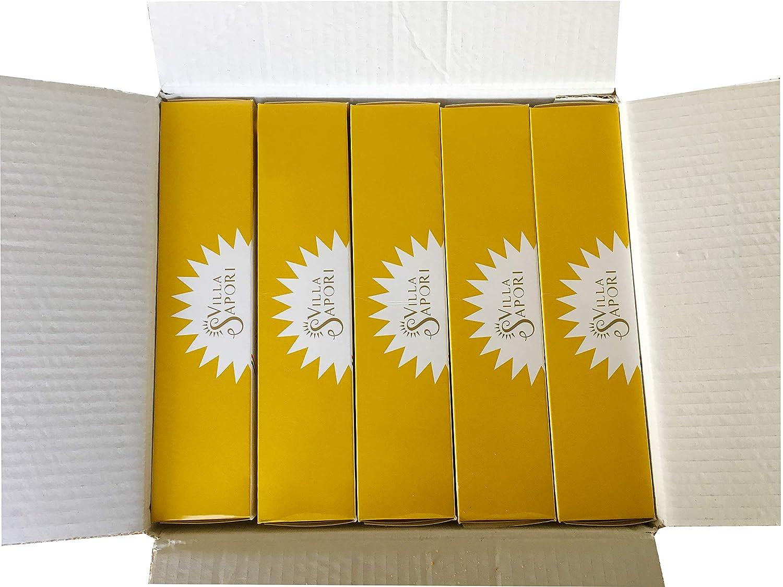 Villa Sapori Pasteles Tradicionales Italianos con sabor de Limón| Pasticcini al Limón, caja de 900 g (pack de 5 x 180 g): Amazon.es: Alimentación y bebidas