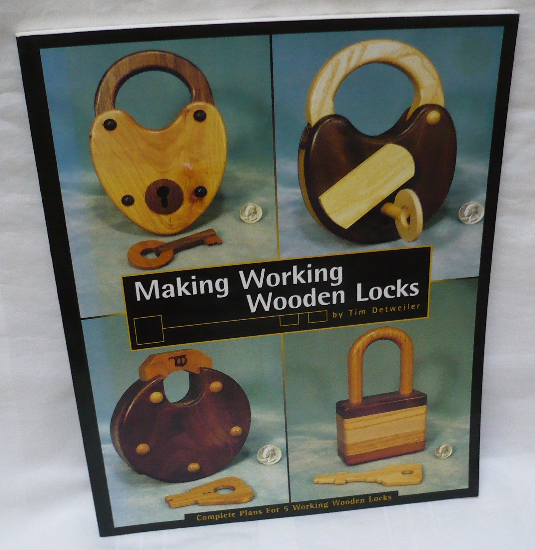 Making Working Wooden Locks (Woodworker's Library)