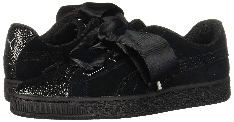 official photos 01c79 c0d40 PUMA Women's Suede Heart Bubble Ankle-High Leather Fashion Sneaker