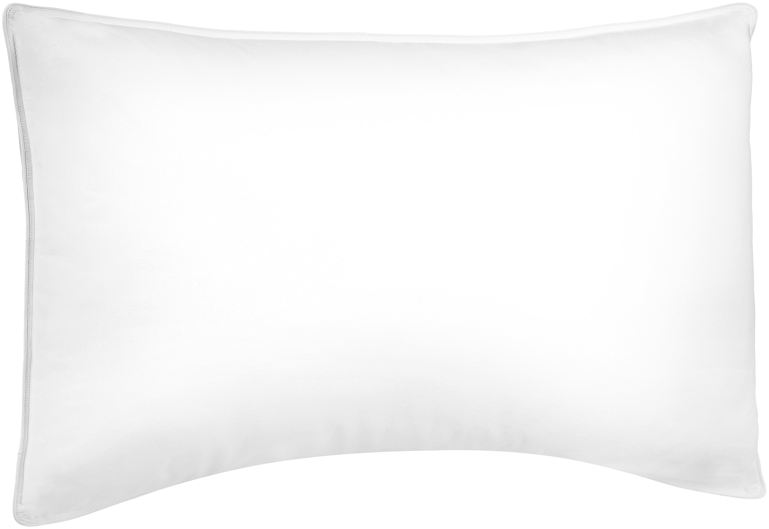 Pinzon Shed-Resistant White Duck Down Pillow - Soft Density, Standard