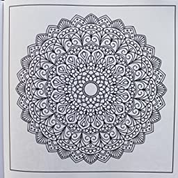 Books: A Coloring Book for Adults Featuring Mandalas and Henna