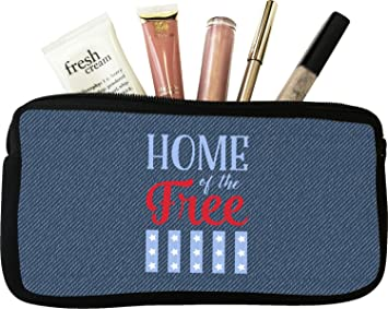 Amazoncom American Quotes Makeup Cosmetic Bag Small