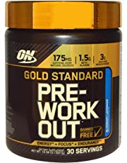 Gold Standard Pre-Workout, Watermelon - 330 grams by Optimum Nutrition mm