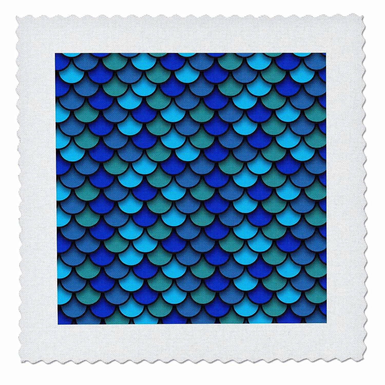 3dRose Sven Herkenrath Art - Multicolor Luxury Trend Pattern Artwork Glitter - 18x18 inch quilt square (qs_280334_7)