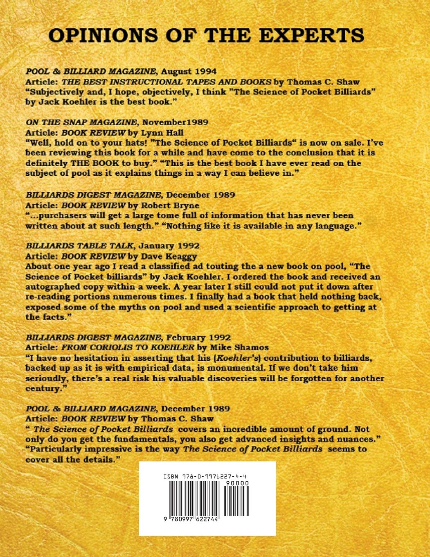 The Science of Pocket Billiards: Amazon.es: Jack H. Koehler ...