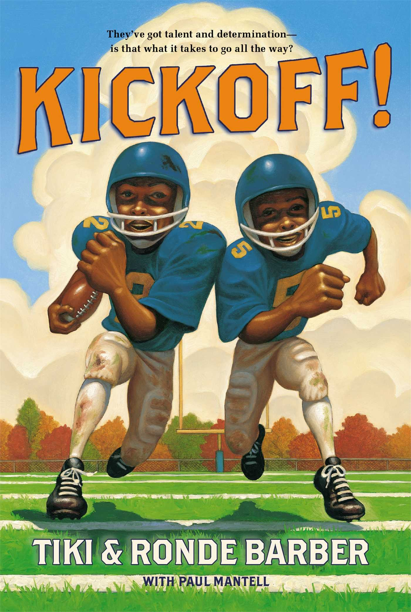 Kickoff Barber Game Time Books product image