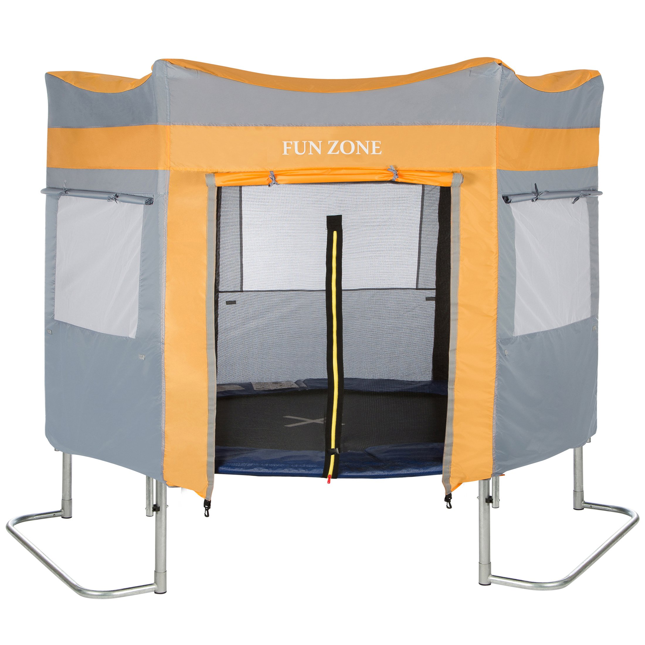 ultrasport trampoline play tent for garden trampoline ultrasport jumper blu ebay. Black Bedroom Furniture Sets. Home Design Ideas