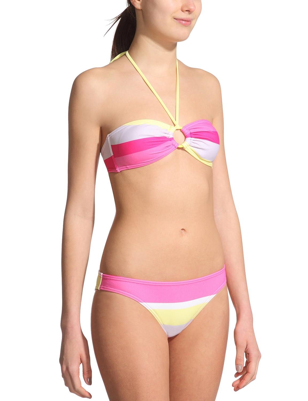 Roxy Damen Bikini Laguna Stripe Scooter PT