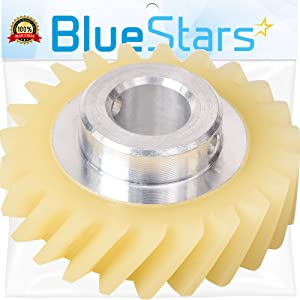 Ultra Durable W10112253 Mixer Worm Gear Replacement Part by Blue Stars – Exact Fit For Whirlpool & Kenmore Mixers - Replaces 4162897 4169830 WPW10112253