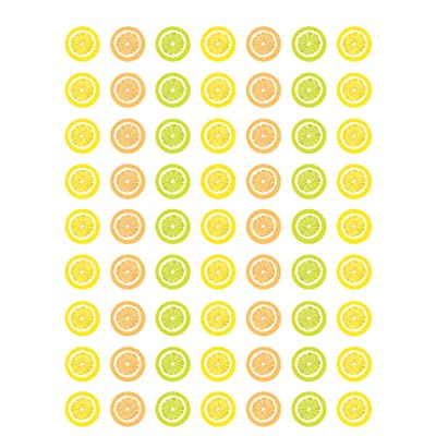 Teacher Created Resources Lemon Zest Mini Stickers (TCR8485): Office Products