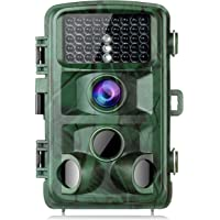 """TOGUARD Caméra de Chasse 14 MP 1080p avec Vision Nocturne et écran LCD 2,4"""" étanche IP56 LED infrarouges pour la Chasse et la sécurité de la Maison"""
