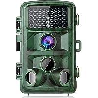 "TOGUARD wildkamera 14MP Full HD 1080P Jagdkamera 120° Weitwinkel Vision Überwachungskamera 2.4"" LCD 42pcs LEDs 20m Nachtsicht mit Bewegungsmelder IP56 Wildtierjagd Trail Kamera"
