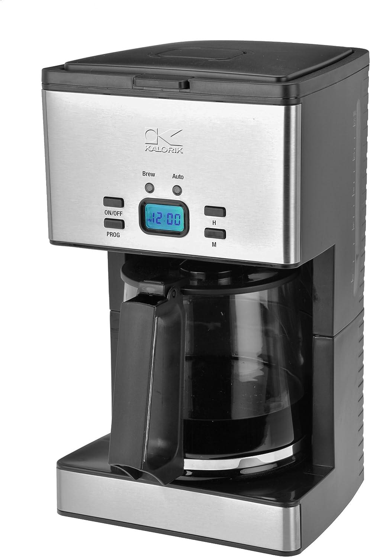 Kalorik Programmable Stainless Steel Coffee Maker, 12-Cup