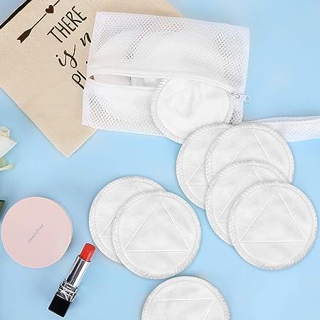 Amazon.com: Almohadillas de maquillaje reutilizables.: Beauty
