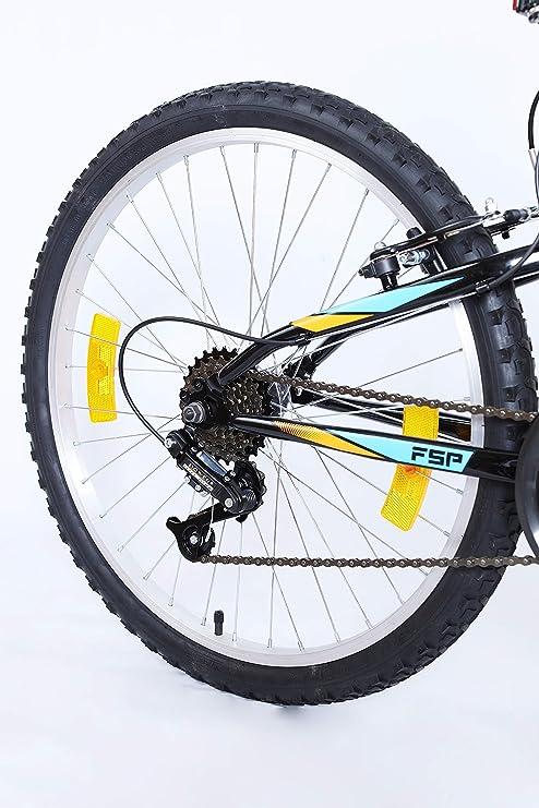VTT Bicicleta de montaña de 26 Pulgadas con suspensión Completa ...