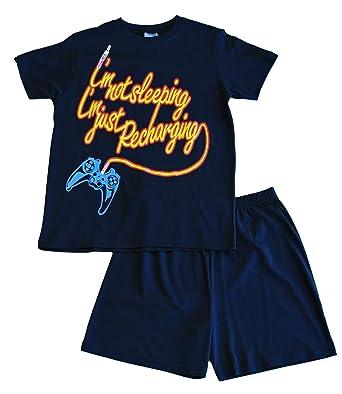 Boys Im Not Sleeping Im Just Recharging Short Pyjamas 11 to 16