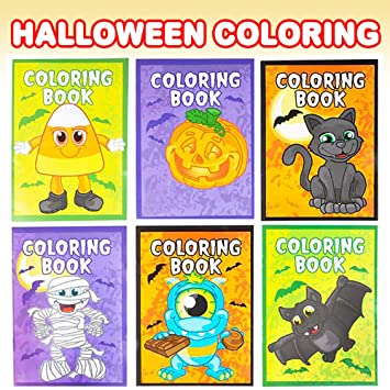 Amazon.com: ArtCreativity Halloween - Libros para colorear ...
