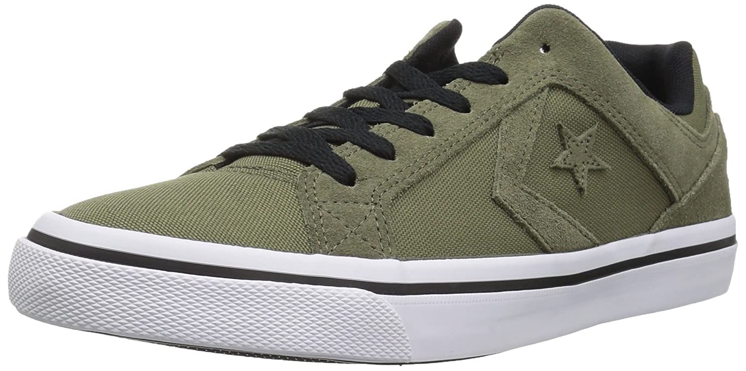 Converse El Distrito Canvas Low Top Sneaker B07CQB8M2X 13 M US|Field Surplus/White/Black