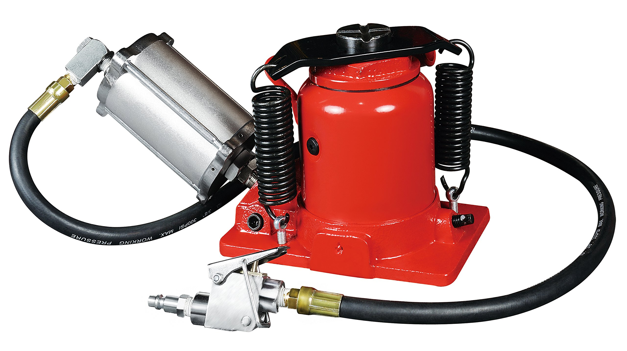 Astro 5304A 20 Ton Low Profile Air/Manual Bottle Jack by Astro Pneumatic Tool