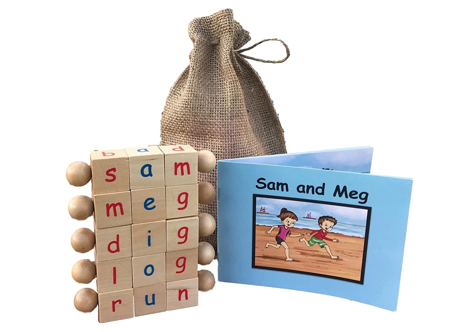 Cheap Educational Toys : Cheap montessori phonetic letter blocks for reading and early