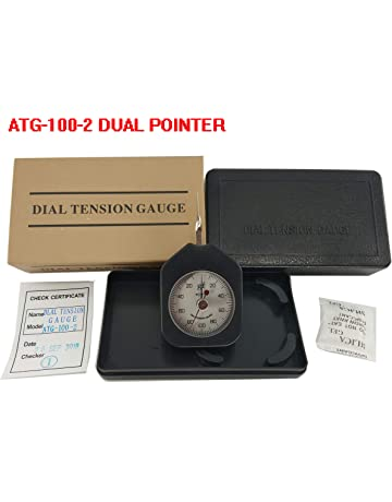 VTSYIQI ATG-100-2 Dial Tension Gauge meter tester Tensionmeter Gram Force Meter Single