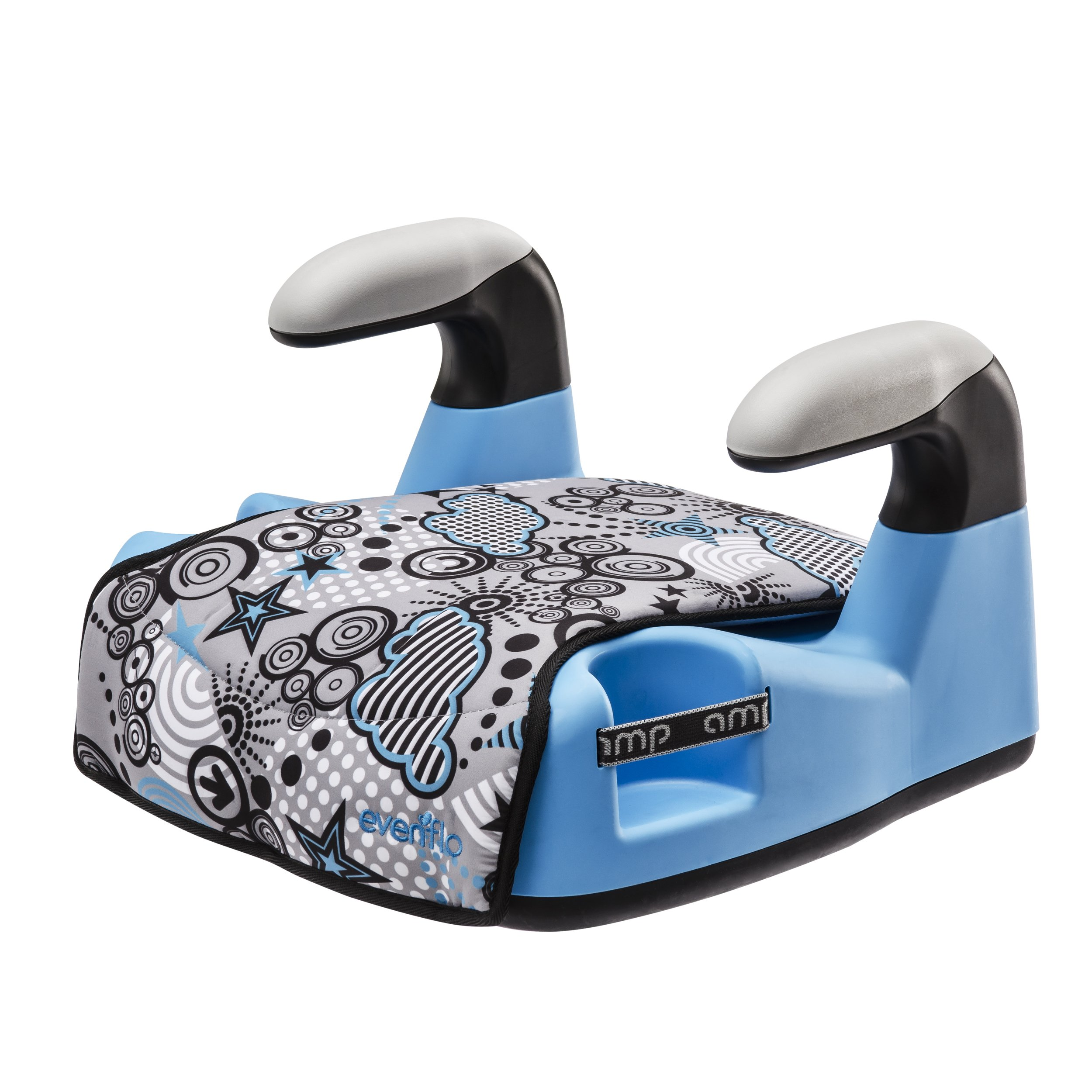 Evenflo Amp Select Car Booster Seat Blue Flames
