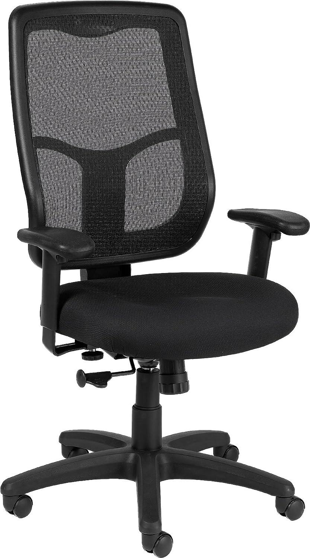 Eurotech Seating Apollo High Synchro Swivel Chair, Black