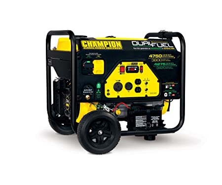 Champion 3800-Watt Dual Fuel RV Ready Portable Generator
